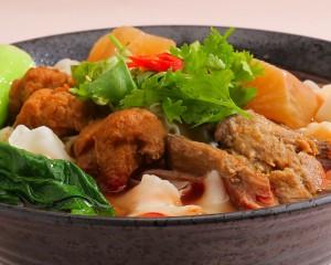 紅燒素香麵 (蛋素)