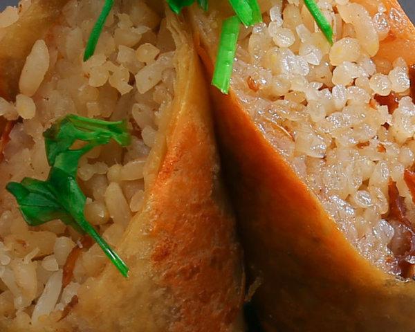 素香手工糯米腸(全素)