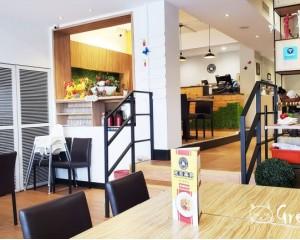 台北市南京三民站美食|素食推薦:〈米菲蔬食〉台北南京店